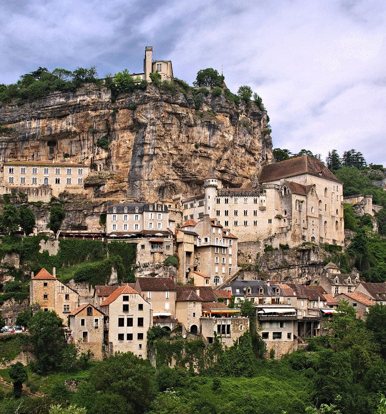 notre dame de rocamadour p lerinages de france. Black Bedroom Furniture Sets. Home Design Ideas